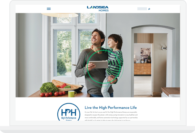 High Performance Homes Page | Landseahomes.com